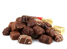 Assorted Fine Chocolates Stock Photo