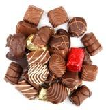 Assorted Fine Chocolates Royalty Free Stock Photos