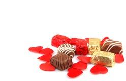 Assorted Fine Chocolates Stock Photography