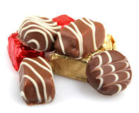 Assorted Fine Chocolates Royalty Free Stock Photography