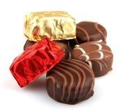 Assorted Fine Chocolates Royalty Free Stock Image