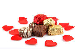 Assorted Fine Chocolates Stock Image
