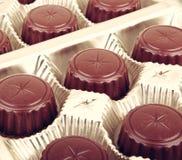 Assorted Fine Chocolates Stock Photo