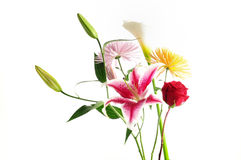 Assorted floral bouquet Stock Photos