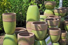Free Assorted Flower Pots Stock Photo - 5208690