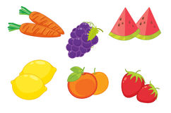 Assorted food Royalty Free Stock Image