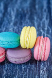 Assorted french macaroons Royalty Free Stock Photography