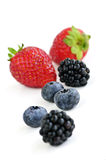 Assorted fresh berries Royalty Free Stock Photography