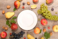 Assorted fresh fruit royalty free stock image