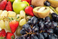 Assorted Fresh Fruits Background Royalty Free Stock Photos