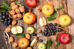 Assorted fresh fruits Stock Photos