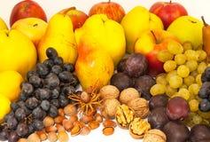 Assorted fresh, ripe fruits Royalty Free Stock Image