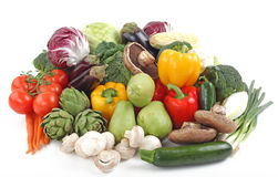 Assorted Fresh Vegetables Stock Photos