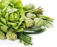 Assorted fresh vegetables Royalty Free Stock Photos