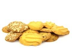 Assorted freshly baked cookies Stock Photo