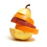 Assorted Fruit Arrangement Stock Photography