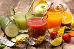 Assorted fruit juice Stock Photography