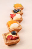 Assorted fruit tarts - series 2 Stock Image