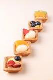 Assorted fruit tarts - series 3 Royalty Free Stock Image