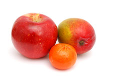 Assorted fruits. Assorted daily fruits in healthy Royalty Free Stock Photo