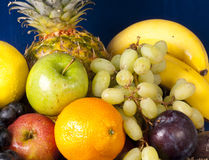 Assorted fruits Stock Images