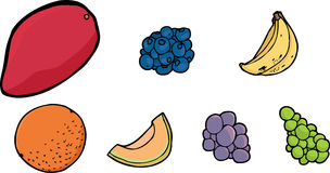 Assorted Fruits Stock Photography