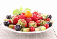 Assorted of fruits Royalty Free Stock Image