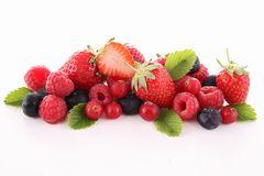 Assorted of fruits Royalty Free Stock Photos