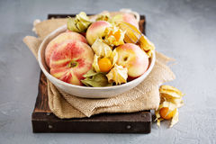 Assorted fruits in a big bowl Royalty Free Stock Photo