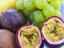 Assorted fruits Stock Photos
