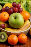 Assorted fruits on the table Royalty Free Stock Photography