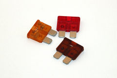 Assorted fuses Royalty Free Stock Image