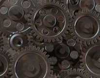 Assorted gears Royalty Free Stock Images