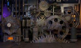 Assorted gears Stock Photos