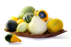 Assorted Gourds Royalty Free Stock Photography