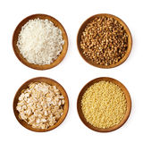 Assorted Grains Royalty Free Stock Photography