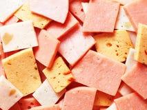Assorted ham bits Stock Images
