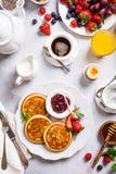 Assorted healthy breakfast Stock Image