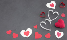 Assorted hearts Royalty Free Stock Photography