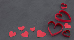 Assorted hearts Royalty Free Stock Photo