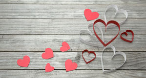Assorted hearts Royalty Free Stock Image