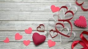 Assorted hearts Stock Photos