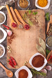Assorted herb and spices Royalty Free Stock Images