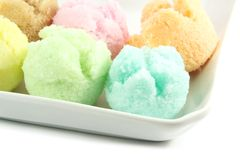 Assorted Ice Cream Flavors Royalty Free Stock Images