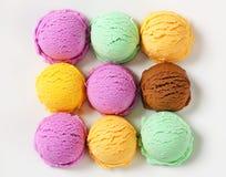 Assorted ice cream Stock Image
