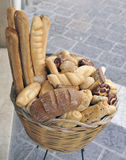 Assorted italian breads Royalty Free Stock Photo