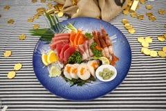 Assorted Japanese sashimi Stock Photography