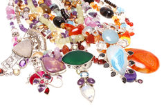 Assorted jewelry Royalty Free Stock Photos
