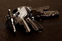 Assorted Keys Stock Photos