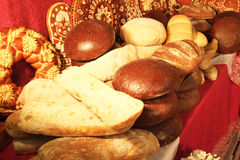 Assorted kinds of fresh baked bread Royalty Free Stock Image